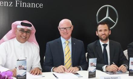 """دايملر للخدمات المالية تطلق """"مرسيدس-بنز فاينانس"""" في مملكة البحرين بالتعاون مع بنك البحرين والكويت وشركة الحداد للسيارات"""