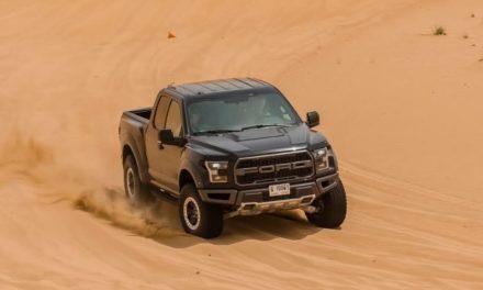 لا مجال للمساومة مع اختبار فورد في صحارى دبي اللاهبة