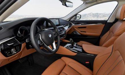 سيارة BMW سيدان الفئة الخامسة الجديدة