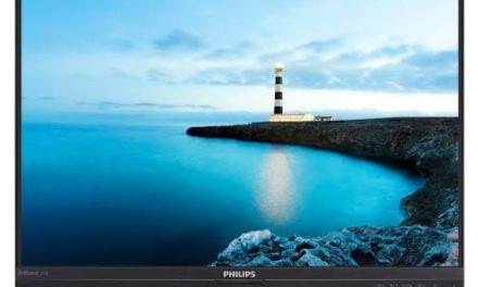 """« فيليبس »  تكشف عن مجموعة منتجات شاشات """"بي – لاين"""" ذو الحواف الأقل مع تقنية """"باورسنسور"""""""
