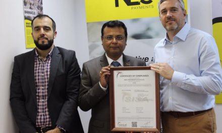 «إن إي سي بيمنتس» تحوز على شهادة الالتزام بمعايير الأمن الدولية للمعلومات