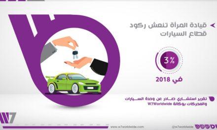 قيادة المرأة تنعش ركود قطاع السيارات 3 % في 2018