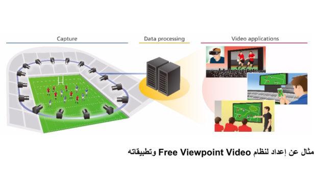 كانون الشرق الأوسط تعلن عن تطوير نظام الكاميرا الافتراضيةFree Viewpoint Video الذي يولّد تجربة مشاهدة غامرة