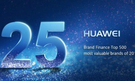 خطوة عظيمة نحو الأمام! هواوي تحصد المركز الخامس والعشرون من بين العلامات التجارية الأعلى قيمة بحسب تصنيف فاينانس براند 500