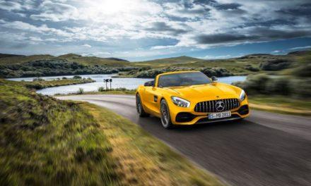 السيارة الجديدة Mercedes-AMG GT S Roadster