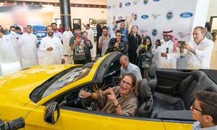 فورد تفي بوعد تقديم سيارة أحلام امرأة سعودية:              فورد موستانج  GT2018 قابلة للكشف