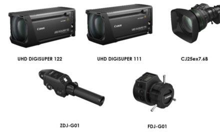 كانون تطرح ابتكارات جديدة في سوق عدسات البث المرئي بتقنية 4K