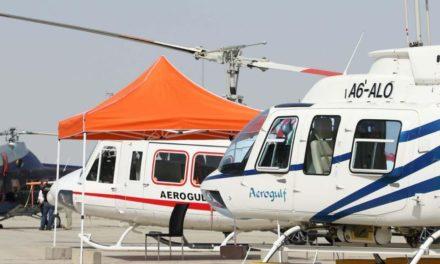 """""""معرض دبي للهليكوبتر 2018"""" يستعرض أحدث الابتكارات التكنولوجية في عالم المروحيات خلال يومه الثاني"""