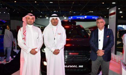 """هافال إتش 6 """" المذهلة تظهر في معرض السيارات السعودي الدولي 2018 في مدينة جدة"""