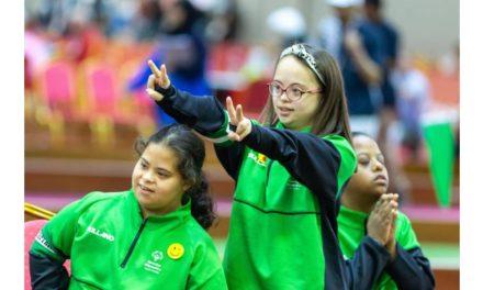 منتخب سيدات المملكة العربية السعودية في رياضة البوتشي يستهل مشاركته في الأولمبياد الخاص الألعاب العالمية أبوظبي 2019 بإحراز فوزين مذهلين