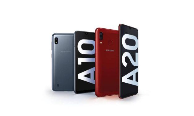 """سامسونج تطلق أحدث هواتفها الذكية الجديدة """"Galaxy A20 / A10"""" في المملكة قريبًا"""