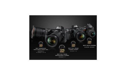 حصدت منتجات نيكون، من بينها أحدث كاميرات سلسلة Z عديمة المرآة، على جوائز TIPA  العالمية لعام 2019