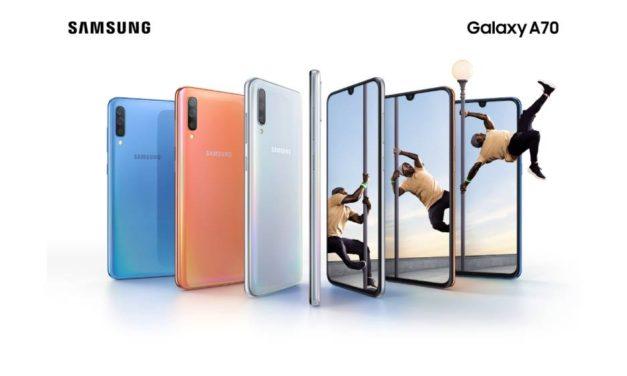 سامسونج تكشف الستار عن أحدث ابتكاراتها في سلسلة Galaxy A مع جهاز  Galaxy A70