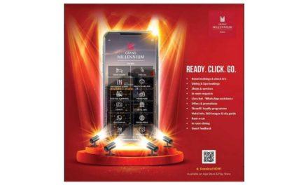 فندق جراند ميلينيوم دبي يطلق تطبيق الهواتف الذكية للضيوف والزوار