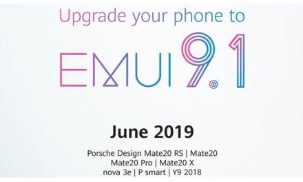 هواوي توفر تحديث EMUI 9.1 لمستخدمي سلسلة هواتف HUAWEI Mate 20