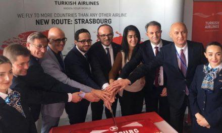 الخطوط الجوية التركية تضيف ستراسبورغ إلى قائمة وجهاتها في فرنسا