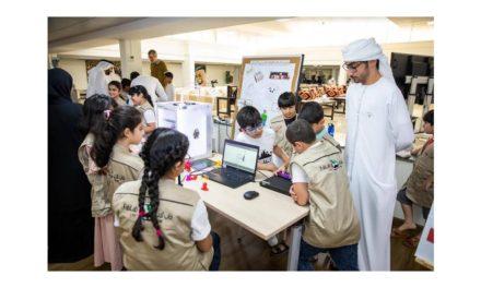 """""""حمدان التعليمية"""" تختتم برامج مختبر الفاب لاب في المخيم الصيفي 2019"""