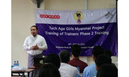 Ooredoo  ميانمار تواصل تمكين المرأة من خلال دعم مشاركة الفتيات في المرحلة الثانية من البرنامج التدريبي ToT