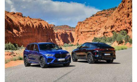سيارات BMW X5 M، وBMW X5 M Competition الجديدة وسيارات BMW X6 M وBMW X6 M Competition الجديدة