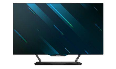 آيسر تطرح ثلاث شاشات Predator جديدة للعب وجهاز عرض B250i المحمول بتقنية LED مع خاصية صوت الاستوديو