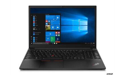 طرح أجهزة الكمبيوتر المحمول Lenovo's ThinkPad Laptops المدعومة بمعالج AMD Ryzen™ 4000 Series قريباً