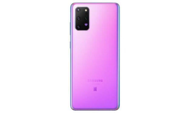 استمتع بحيوية اللون الأرجواني: سامسونج تطلق هواتف  Galaxy S20+ 5G وGalaxy S20+ وسماعات Galaxy Buds+ بإصدار BTS المحدود
