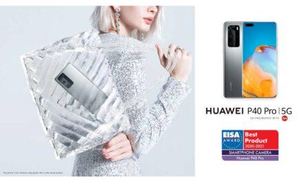"هواوي تفوز بجائزتي EISA عن ""أفضل كاميرا هاتف ذكي"" مع هاتف HUAWEI P40 Pro و ""أفضل ساعة ذكية"" مع ساعة HUAWEI WATCH GT 2"