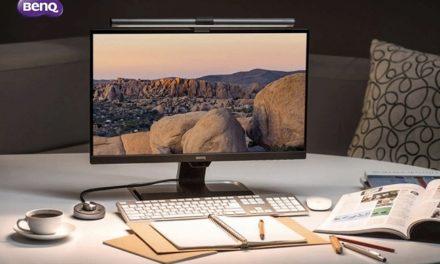 بينكيو تطلق شاشات GW2480T وGW2780T الواقية للعين بمصباح شاشة ScreenBar