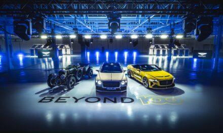 Bentley Motors تستعرض استراتيجية Beyond100، مستهدفة الريادة في مجال التنقّل الفاخر المستدام