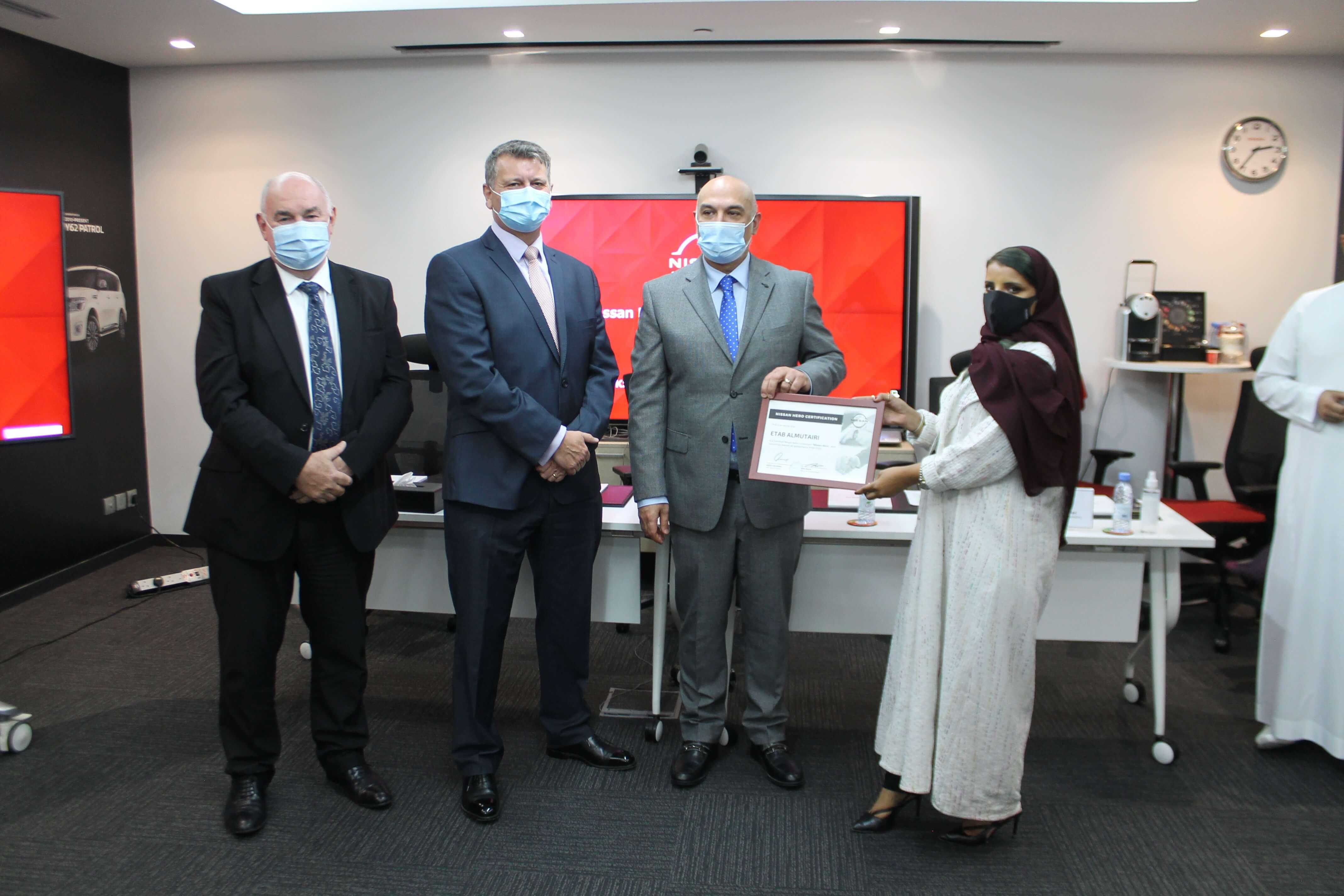نيسان العربية السعودية تكرّم المواهب السعودية الفائزة ببرنامج Nissan Hero