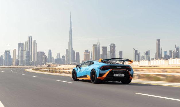 'أوتوموبيلي لامبورغيني' تكشف عن 'هوراكان STO' الجديدة في الإمارات