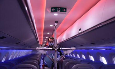 دناتا تطور حلاً لتنظيف مقصورات الطائرات بالأشعة فوق البنفسجية