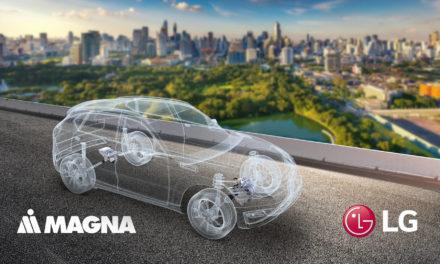 إل جي وشركة ماغنا توقعان اتفاقية مشروع مشترك للتوسع في سوق المركبات الكهربائية