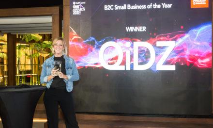 فوز تطبيق QiDZ بجائزة أفضل شركة صغيرة لعام 2020 في الأعمال المباشرة مع العملاء