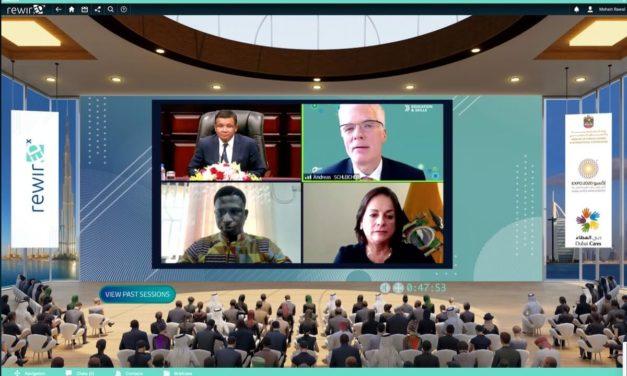 مؤتمر ريوايرد إكس الافتراضي يختتم فعاليته في إسبوع إكسبو 2020 دبي للمعرفة والتعلم بتوصيات لتعزيز التعاون والتواصل للارتقاء بمجالات التعليم والتعلّم وتحسين سبل العيش