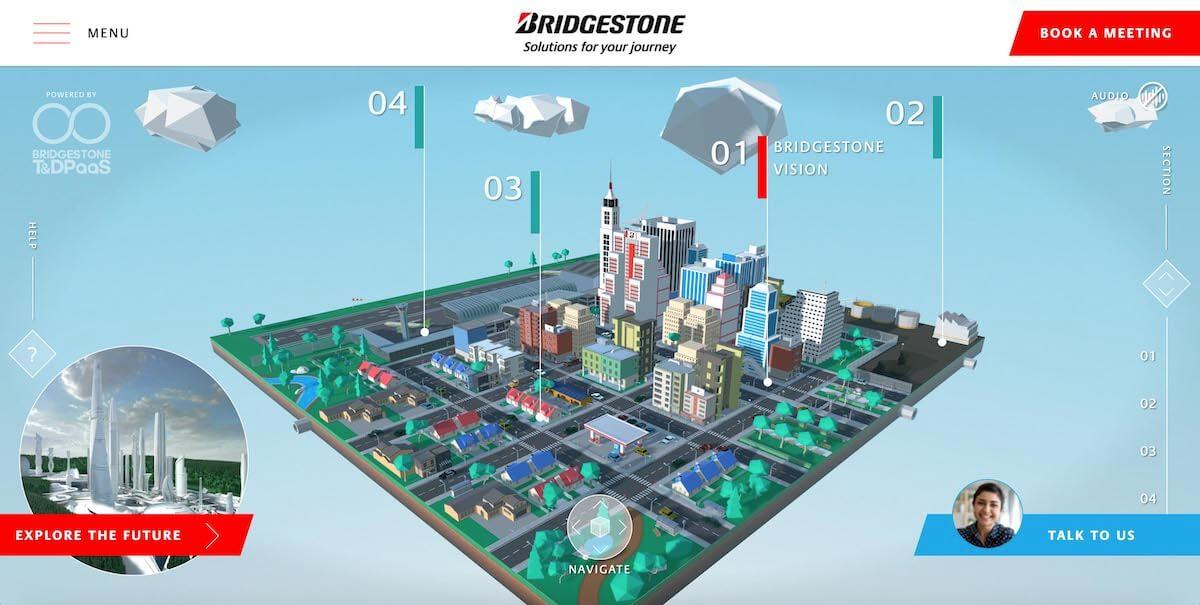 """""""بريجستون"""" تكشف عن مدينتها الافتراضية """"عالم بريجستون"""" وتعرض حلول التنقل المتطورة خلال مشاركتها في معرض الإلكترونيات الاستهلاكية #CES2021"""