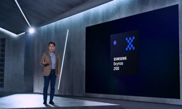 معالج Exynos 2100  الجديد من سامسونج يضع معياراً جديداً لمعالجات الهواتف المحمولة الرائدة