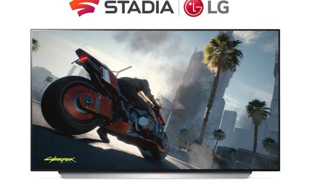 """""""إل جي"""" تضيف منصة """"ستاديا"""" السحابية للألعاب إلى تلفزيوناتها الذكية في أواخر العام 2021"""