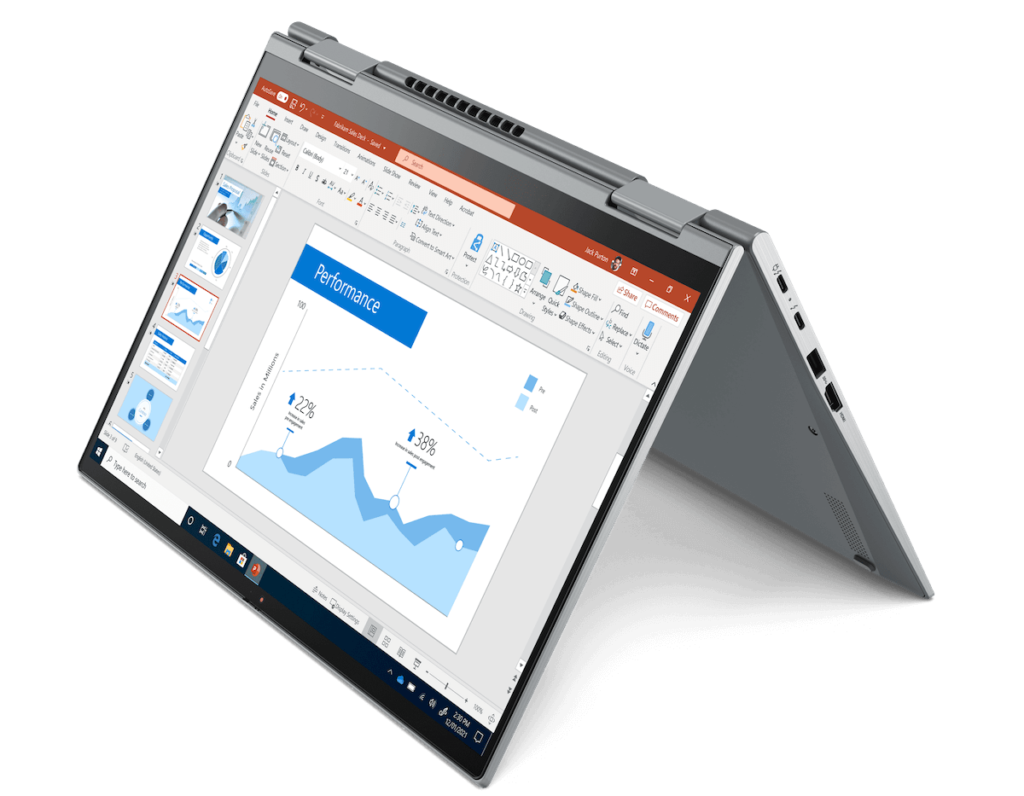Lenovo ThinkPad X1 Yoga Gen 6 - Tent Mode