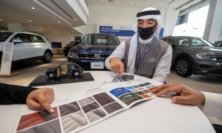 ارتفاع كبير في مبيعات هذا العام مقارنة مع العام الماضي فولكس واجن السعودية تشهد أكبر مبيعات على مستوى الشرق الأوسط