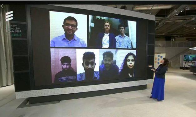 فريق جامعة كوينزلاند يفوز بالمرتبة الأولى في جوائز إريكسون للابتكار 2020