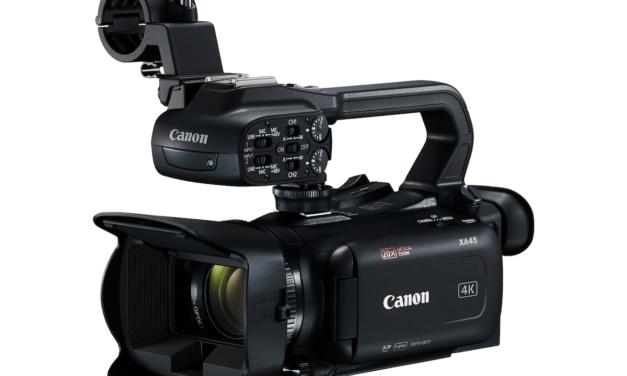 """""""كانون"""" تطرح كاميرا الفيديو المدمجة Canon XA45 بقدرات تسجيل احترافية ودقة 4K في أوروبا والشرق الأوسط وأفريقيا"""