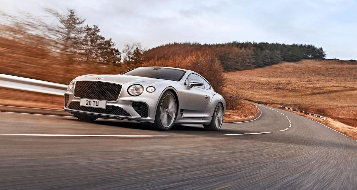Continental GT Speed الجديدة سيارة Bentley الأكثر ديناميكية للطرقات في التاريخ
