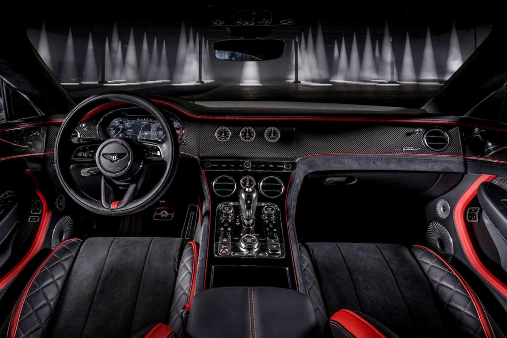 الصورة 3 - Continental GT Speed الجديدة من الداخل