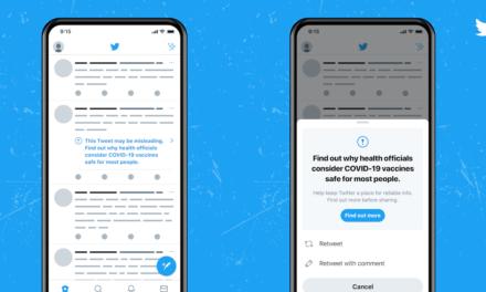 تويتر يضع إشعارات على التغريدات التي تحتوي على معلومات مضللة حول لقاحات كوفيد_19