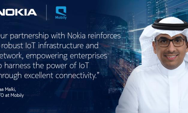 نوكيا توسّع الشراكة مع موبايلي في مجال شبكة إنترنت الأشياء في المملكة العربية السعودية