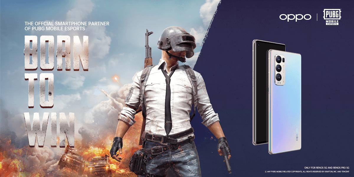 أوبو رينو5 برو الشريك الرسمي للهواتف الذكية لموسم ألعاب ببجي موبايل 2021 بمنطقة الشرق الأوسط وأفريقيا