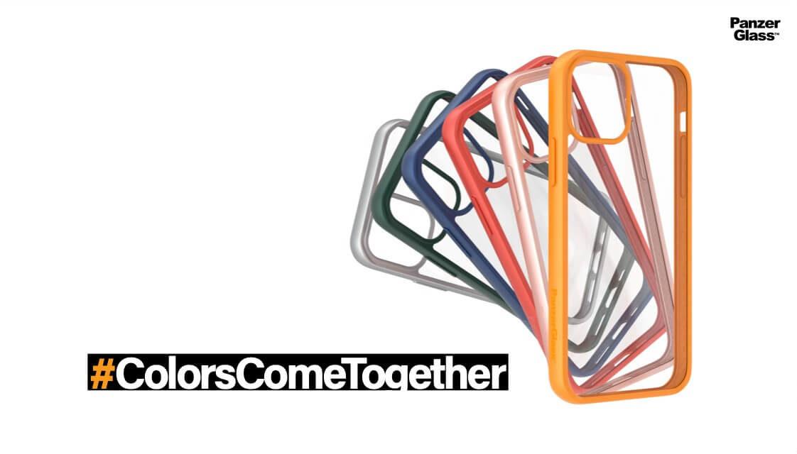 """""""بانزر جلاس"""" لحماية الشاشات الالكترونية تطلق مجموعة """" كليير كايز كولور"""" المضادة للبكتيريا في المنطقة، وقريبًا في المملكة العربية السعودية #ColorsComeTogether"""