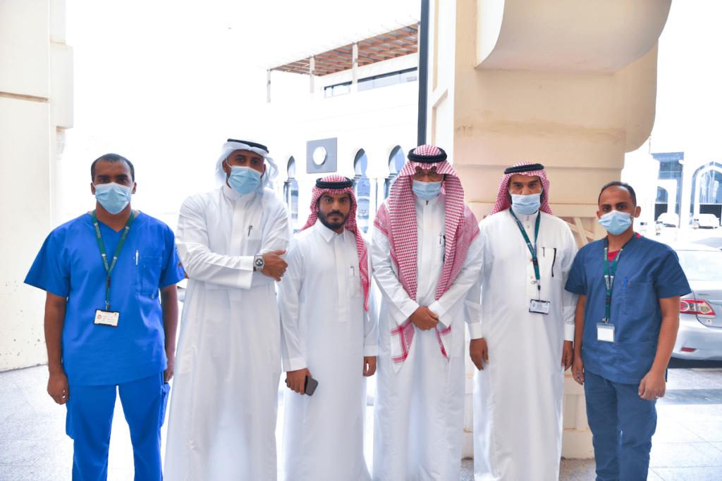 شهد الافتتاح الدكتور سعيد العمودي المدير التنفيذي لمختبرات البرج