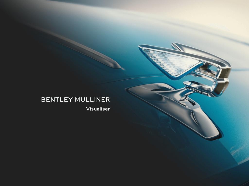 ------ 1 - Mulliner Visualiser ------